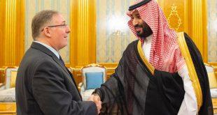 الأمير محمد بن سلمان يلتقي برئيس وفد القيادات المسيحية الإنجيلية