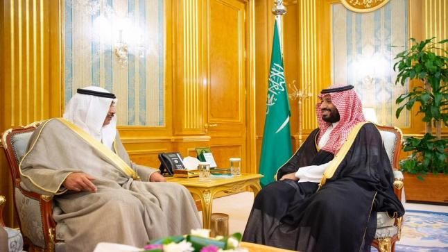 الأمير محمد بن سلمان يلتقي نائب رئيس مجلس الوزراء ووزير الخارجية الكويتي