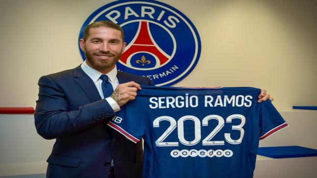 للمرة الثانية .. راموس: أتمنى أن ألعب مع ميسي في باريس سان جيرمان